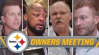 Reid, McVay, Marrone on Steelers