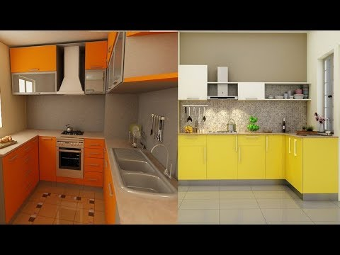 Small Kitchen Design Ideas // Small Space Modular Kitchen - YouTube