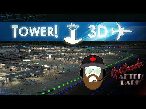 CptCanada AfterDark | Rush Hour At Orlando International Tower3D Pro