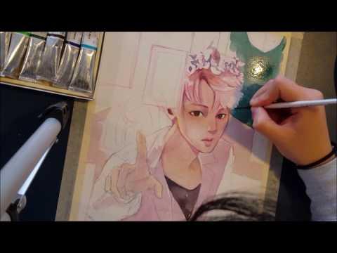 [BTS] Jin's Day Speedpaint