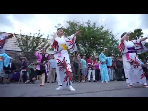 Japanese Folklore & Dance (1) - Natsu Matsuri & Bon Odori 2016 夏祭り