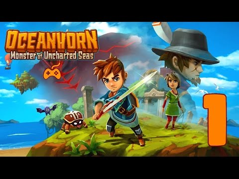 OCEANHORN: Monster of Uncharted Seas  - Let's Play, Part 1 (PS4 1080p)