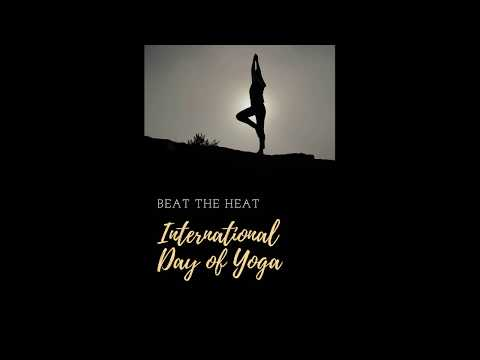 International Yoga Day | 21 JUNE YOGA DAY | SuryaNamskar | Sun Salutation | BeaT ThE HeaT
