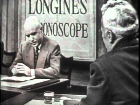 LONGINES CHRONOSCOPE WITH DR. HARRY C. BYRD