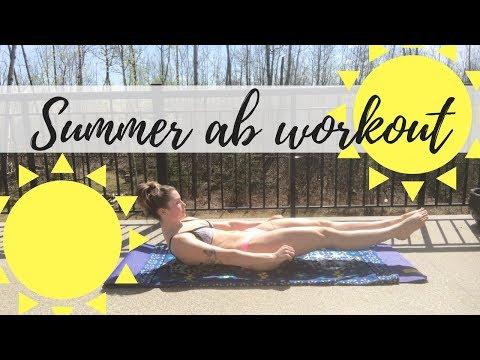 SUMMER OUTSIDE AB WORKOUT | Karen O\'Connell | KO Fitness