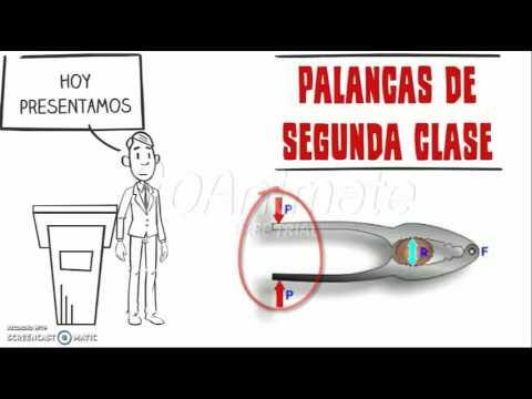 PALANCAS DE SEGUNDA CLASE. - YouTube