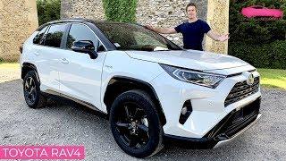 Essai Toyota RAV4 hybride 2019 - la SOLUTION pour les entreprises - Le Vendeur Automobiles
