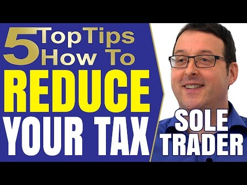 HMRC Self Assessment Income Tax Deductions And Allowances For The Sole Trader