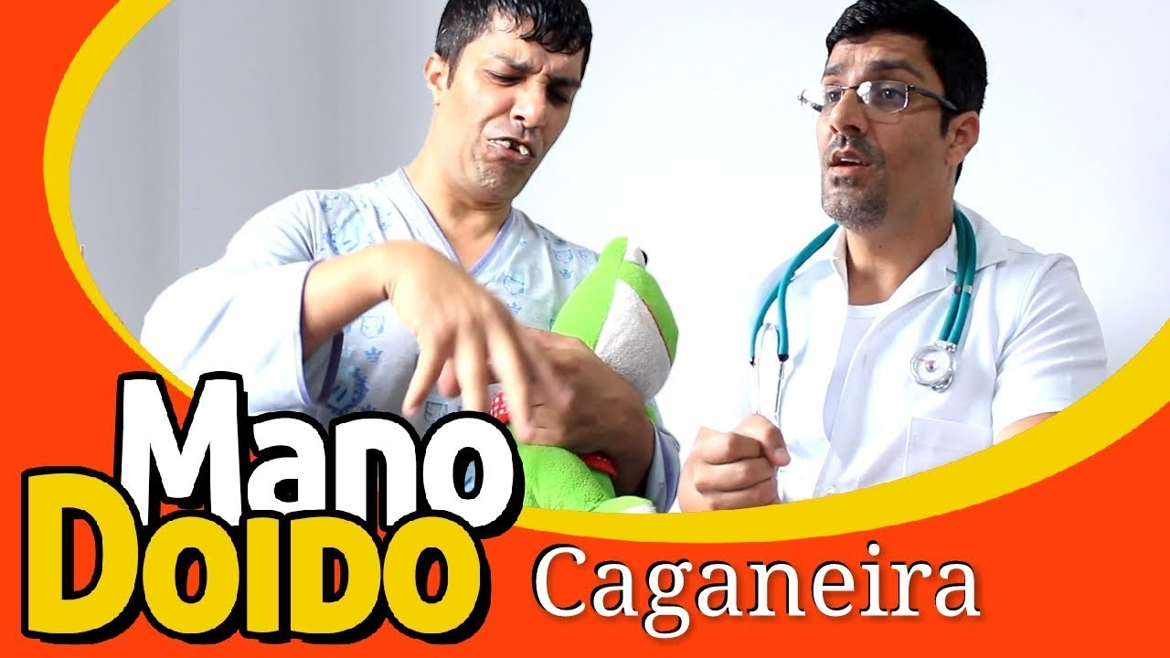 CAGANEIRA - PIADA DE DOIDO - MANO DOIDO PARAFUSO SOLTO