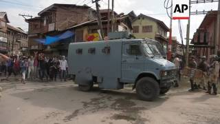 Violence as Kashmir protesters defy curfew
