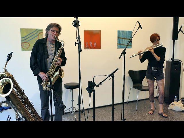 Udo Schindler & Karina Erhard @ Galerie arToxin 25-07-2020 Teil 1