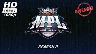 🔴 Live MPL ID Season 3 [LOUVRE vs SFI] Week 1 Days 2 Mobile Legends Bang Bang