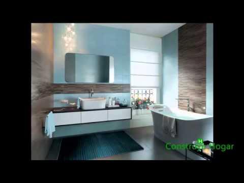 Azulejos para cuarto de ba o youtube Azulejos para cuartos de bano modernos