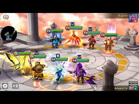Summoner War: Feng Yan C3 Vs G2 (Wind Panda Warrior )