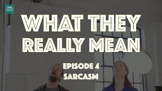 What They Really Mean: Sarcasm