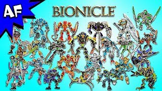 Lego Bionicle 2015 and 2016 Collection
