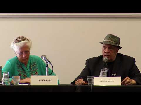 Laurie R. King/Walter Mosley interview 6-3-17
