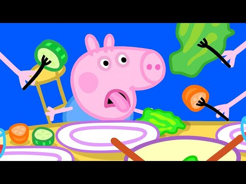 Peppa Pig Official Channel   George and Vegetable - Yes or No?