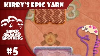 SGB Play: Kirby's Epic Yarn - Part 5   Welcome to Jurassic Land