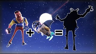 THE NEIGHBOR & SHARK Fusion (Hello Neighbor)