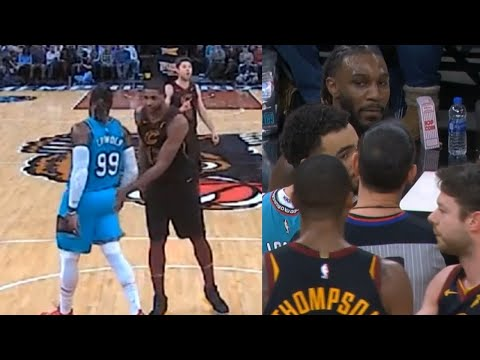 Tristan Thompson gets ejected for slapping Jae Crowder on the butt