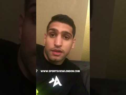 AMIR KHAN CONFIRMS PACQUIAO FIGHT & RIPS INTO EDDIE HEARN!!!
