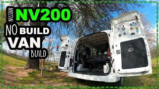 Nissan NV200 No Buİld Van Build Conversion - Simple Inexpensive Stealth Micro Camper Conversion