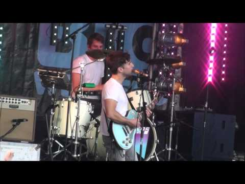 The Hoosiers Goodbye Mr A - LIVE Danson Festival 8th July 2012 HD