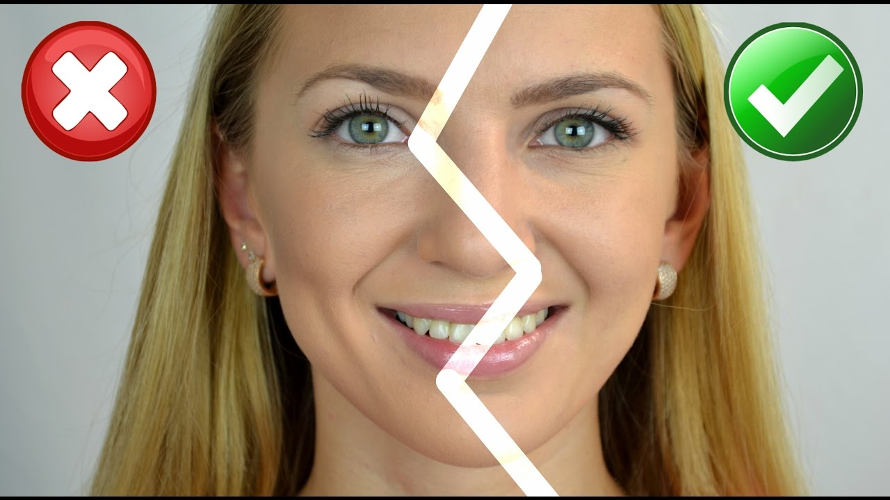 foundation for beginners how to avoid cakey face youtube