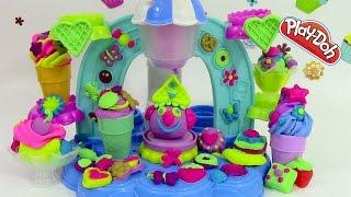 Pâte à modeler Play Doh Le Glacier Torsade Sorbetière Tourbillons Glacés ♥ Swirl & Scoop Ice Cream
