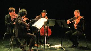 FLUX Quartet plays Earle Brown String Quartet