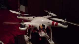 why dji phantom motors not spinning solved