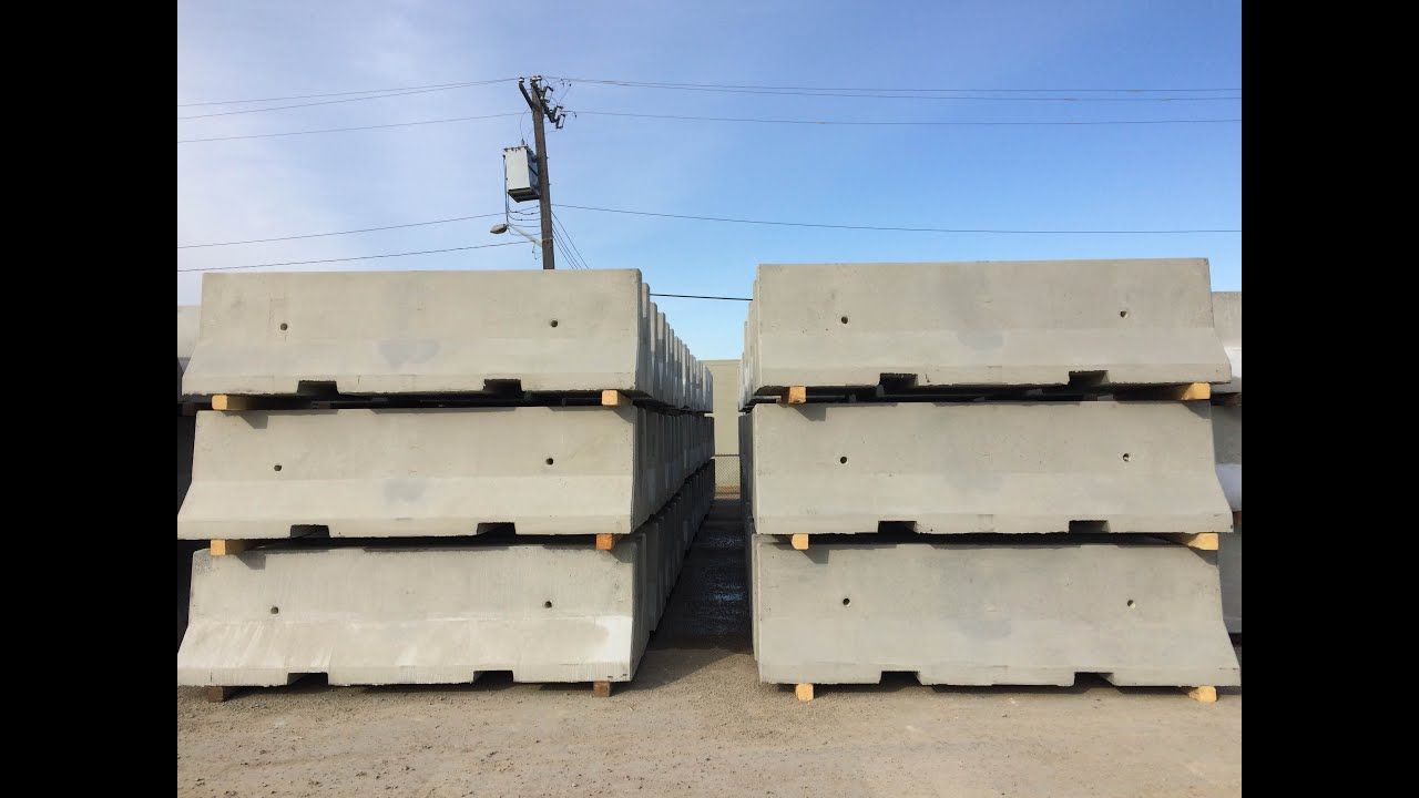 Lafarge precast edmonton concrete traffic barrier youtube