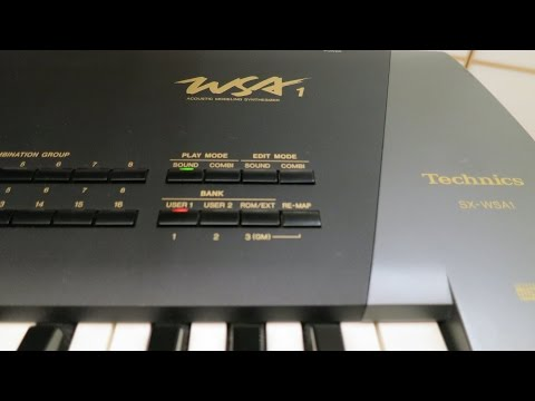 Best Ambient Synth Shootout #26: Technics WSA1- Song 1