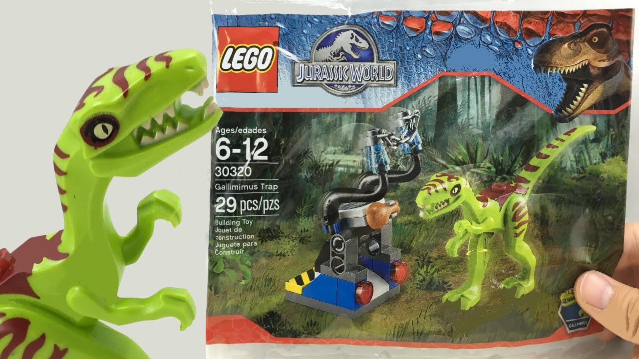 LEGO Jurassic World Gallimimus Trap Set 30320 Exclusive Polybag 29pcs