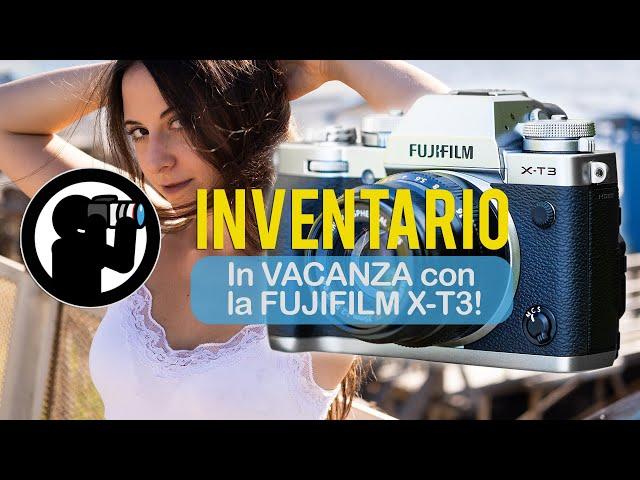 In VACANZA con la FUJIFILM X-T3! (+ FUJI XF 35mm f/2.0)
