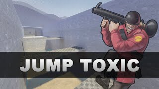 jump_toxic_v6 | Team Fortress 2 (Rocket Jumping Map)