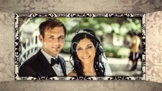 Слайд шоу - Свадебный фотоальбом