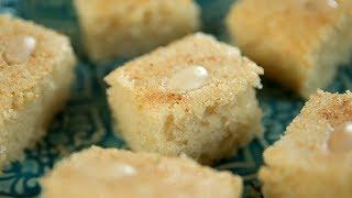 How To Make Rava Cake   Eggless Rava Cake Recipe   Semolina Cake   Suji Cake   Sooji Cake   Upasana