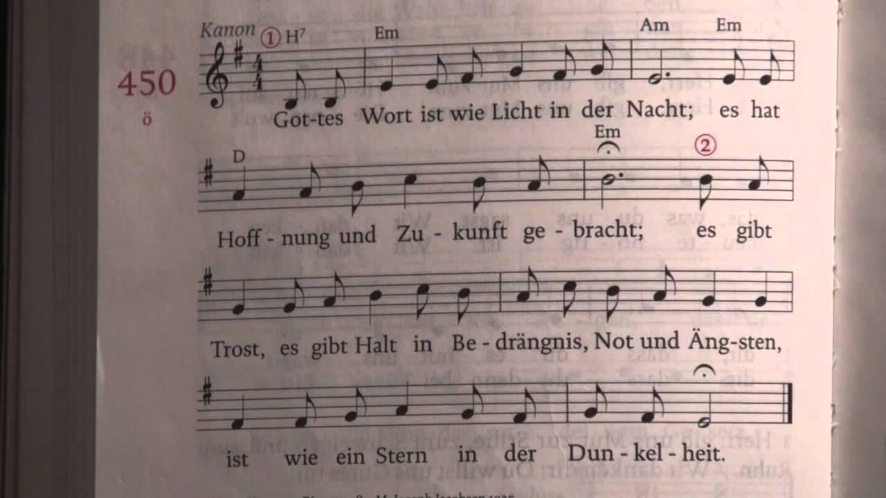 Noten liebe wunderbar so gottes lied und ist text LIED: Gottes