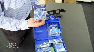 Masterchef All Blue HSE 10 Person Catering First Aid Kit - Unboxing