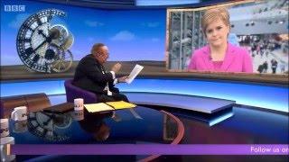 Andrew Neil exposes Nicola Sturgeon's economic plan in a car crash interview. #SNP16 thumbnail