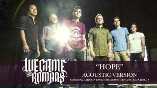 We Came As Romans - Hope (Acoustic)