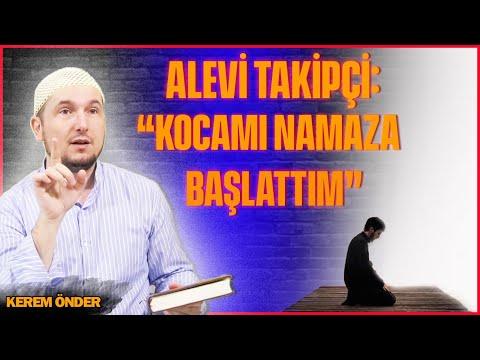 """Alevi takipçi: """"Kocama Sünni teneffüs yaptım ve namaza başlattım 🙂"""" / Kerem Önder"""