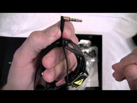 Unboxing Monster Turbine Pro Copper in ear Headphones