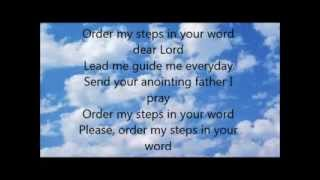 """Order My Steps"" Lyrics & Video by GMWA Women of Worship"