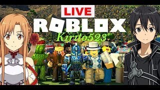 LIVE playing Roblox with anyone you want