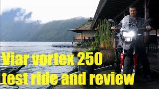 Viar Vortex 250, Test Ride And Review Zongshen Rx3, Csc Rx3 Cyclone