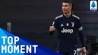 CR7 scores his 15th Serie A TIM goal of the season | Juventus 3-1 Sassuolo | Serie A TIM