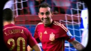 España vs Luxemburgo 2015 (4 - 0), Eliminatorias EURO FRANCIA 2016